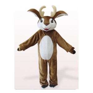 blanco-y-brown-deer-apetece-vestir-traje-de-mascota161813218