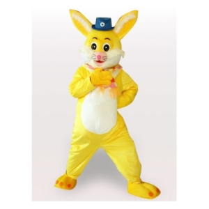 conejo-amarillo-carnaval-de-halloween-traje-de-la-mascota155433765