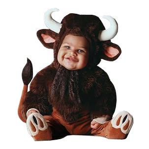 toroblanco disfraz para bebes