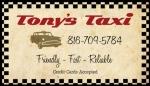 TONYS TAXI CARD b2a3df2590cef0ebd36fb20d2124cde2