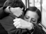 abrazo EN BLANCO Y NEGRO