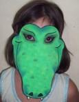 Marina ocarina con la máscara que usaba para enamorar a Narkoko