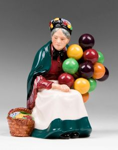 PS101277.1L Royal Doulton Figurine ballon seller
