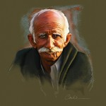 VIEJITO OLD MAN  by Odwin Rensen