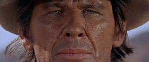 Once Upon a Time in the West - Charles Bronson close-up