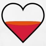 half-full-heart-3c-T-Shirts