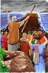 moses and red sea