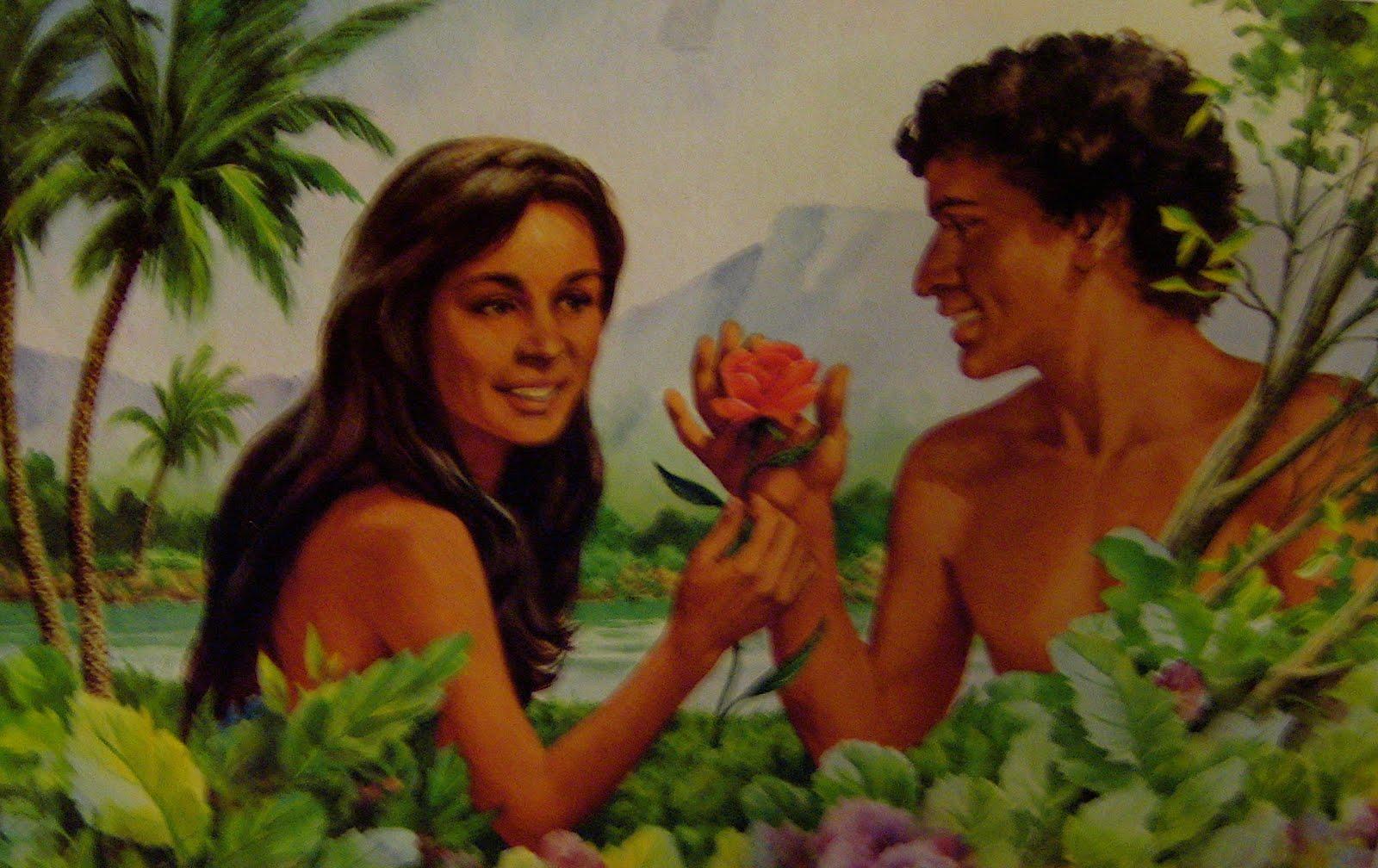 La primera hija de ad n y eva remigio sol for Adan y eva en el jardin