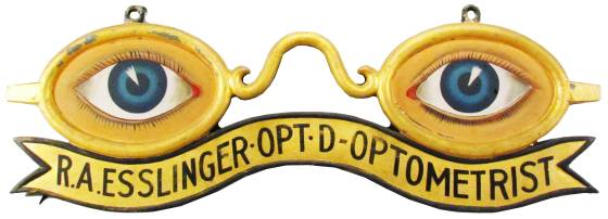 Optometrist-sign