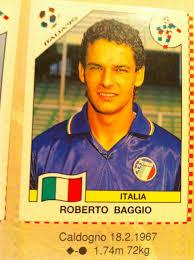 POSTER DE ROBERTO BAGGIO