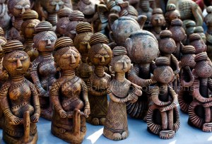clay-idols-of-bengal